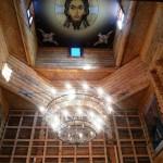 Небо с изображением иконы — Спас Нерукотворный XII в.